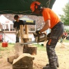 II. festival  chainsaw carving