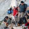 Guiding an RTV SLO camera crew to Mt Triglav